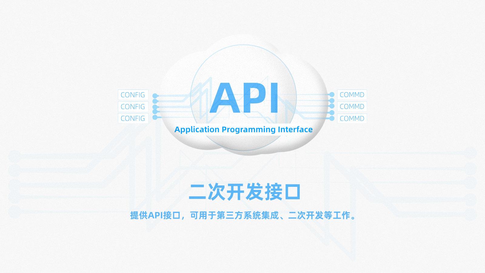 艾克斯SD-WAN系统提供完善的API接口